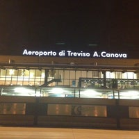 Photo taken at Treviso-Sant'Angelo Airport (TSF) by Andrea S. on 7/1/2013