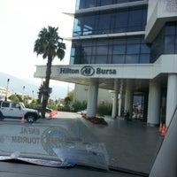 8/22/2013 tarihinde Mohammad A.ziyaretçi tarafından Hilton Bursa Convention Center & Spa'de çekilen fotoğraf