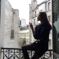 Photo taken at Rue de Liège by Galina A. on 5/17/2016
