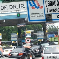 Photo taken at Pintu tol bandara cengkareng by eddy m. on 11/2/2012