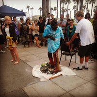 Photo taken at Venice Beach Boardwalk by Shaun A. on 6/29/2013