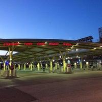 Photo taken at Stephanie Tubbs Jones Transit Center by Elena M. on 4/19/2014