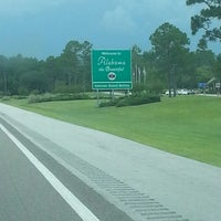 Photo taken at Alabama / Florida State Line by Shayna B. on 7/19/2013