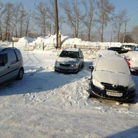 Photo taken at Альт-парк, Дилер Skoda by Danil S. on 1/28/2013