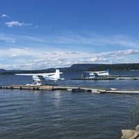 Photo taken at Kilen Sjøflyhavn by Morten M. on 8/27/2016