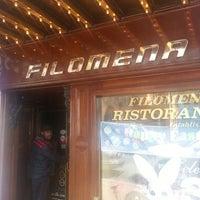 Photo taken at Filomena Ristorante by Adrian G. on 3/30/2013