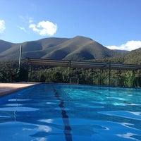 Photo taken at Santa Maria de Teotepec by Alex G. on 5/26/2014