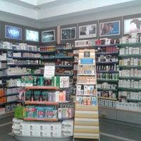 Photo taken at Συστεγασμένα Φαρμακεία Στεφανάτου Μ. - Τράντος Δ. by Christina T. on 7/24/2013