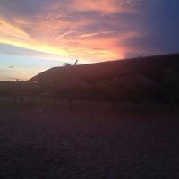Photo taken at Cabañas Mahumar;Cabins & Beach Club.Playa Azul by Arturo Alejandro E. on 8/10/2014