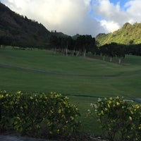 Photo taken at Oahu Country Club by Jim C. on 4/15/2016