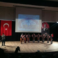 Photo taken at Halk Eğitim Şantiye Binasi by Hafise K. on 4/10/2014