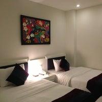 Photo taken at Mai Hotel by Sirikarn W. on 10/16/2013
