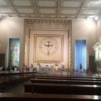 Photo taken at Santuário Santo Antônio do Pão dos Pobres by THAIS L. on 6/11/2014