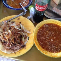 Photo taken at Birria el Zacatecano by Emilio M. on 7/14/2014