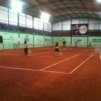 Photo taken at Academia de tênis Vitor Caiafas by Alberto S. on 9/4/2013