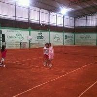 Photo taken at Academia de tênis Vitor Caiafas by Alberto S. on 8/2/2013