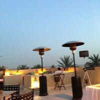 Photo taken at Rooftop Bar Bab Al Shams by Amitabh D. on 3/15/2013