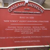 Das Foto wurde bei Gaslamp Quarter Museum von NeMeSiS am 3/21/2016 aufgenommen