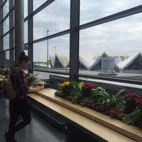 Photo taken at Riga International Airport (RIX) by Harat Tony C. on 4/5/2016