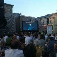 Photo taken at Oper für alle by Corina D. on 7/26/2013