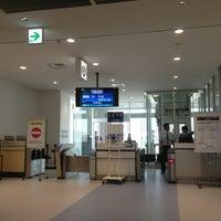 Photo taken at 新石垣空港 6番搭乗口 by Jonathan A. on 8/4/2013
