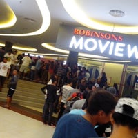 Photo taken at Movie World Robinsons Place Palawan by JM R. on 4/4/2015