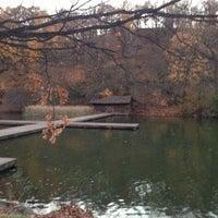 Photo taken at Lake Carnegie by Evgeny K. on 11/18/2012
