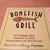 Photo taken at Bonefish Grill by Melissa D. on 11/29/2013