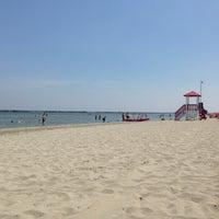Photo taken at Gallanti Beach Pomposa by Dora V. on 6/8/2014