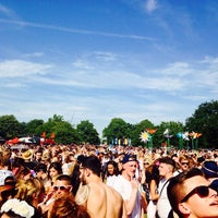 Photo taken at Lovebox Festival by Tomas S. on 7/18/2014