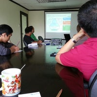 Photo taken at Certeza Infosys Corporation by Carlos E. on 5/15/2014