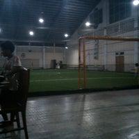 Photo taken at Kharisma Futsal by Liber T. on 10/8/2013