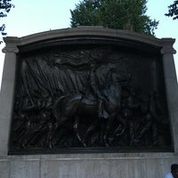 Photo taken at Robert Gould Shaw Memorial by Stefan S. on 7/14/2016