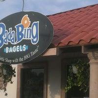Photo taken at BadaBing Bagels by Nick M. on 4/10/2013