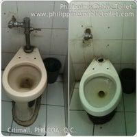 Photo taken at Philippines Public Toilet www.philippinespublictoilet.com by www.deiville.com D. on 3/7/2014