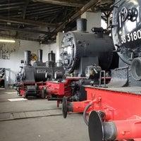 Photo taken at Bayerisches Eisenbahnmuseum by Artem K. on 5/1/2018
