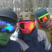 Photo taken at Poley Mountain by Людмила Р. on 2/13/2016