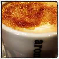 Photo taken at Aroma Espresso Bar by Phil F. on 12/9/2012