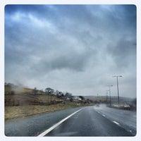 """Photo taken at Birch Westbound Motorway Services (Moto) by Eric """"TipSquirrel"""" R. on 4/13/2013"""