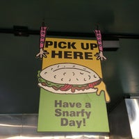 Photo taken at Snarf's Sub Shop by Clarke H. on 4/8/2013