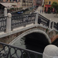 Photo taken at Ponte De I Tre Ponti by Tereza R. on 10/4/2013