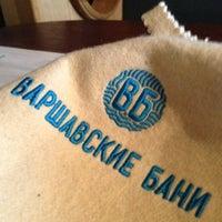 Das Foto wurde bei Варшавские бани von Andrey M. am 8/1/2013 aufgenommen