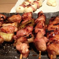Photo taken at 炭火焼き鳥 一鶏。 by Kotaro H. on 8/3/2013