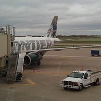 Photo taken at Frontier Airlines by Daniel S. on 10/19/2012