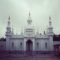Photo taken at Spanish Mosque by Riaz R. on 8/1/2013