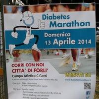 Photo taken at Campo Scuola Gotti by Domenico D. on 4/13/2014