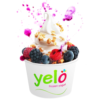 Photo taken at Yelo Frozen Yogurt by Yelo Frozen Yogurt on 7/20/2013