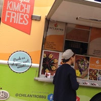 Photo taken at Chilantro BBQ Truck by SkeeterNYC on 3/20/2015