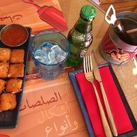 Photo taken at Dukkan Burger by Abdulrahman on 1/13/2018