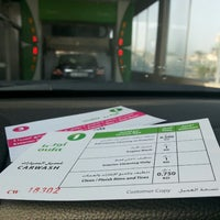 Photo taken at Oula car wash by Abdulrahman on 10/18/2013